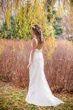 Bride garden grass tree Stock Photos