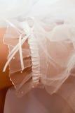 Bride garter Royalty Free Stock Photo