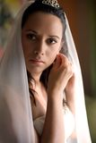Bride is getting ready Stock Photography