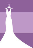 Bride Gown Royalty Free Stock Photography