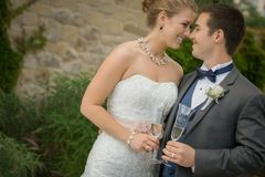 Bride, Gown, Photograph, Wedding Dress Stock Photos