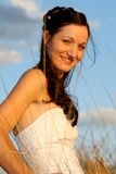 Bride Grass Royalty Free Stock Images