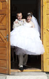 Bride and grome Stock Image