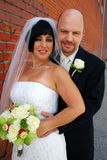 Bride & Groom Stock Photo