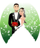 Bride Groom Royalty Free Stock Photos
