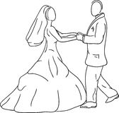 Bride groom Royalty Free Stock Photography