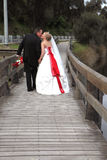 Bride and groom Stock Photo