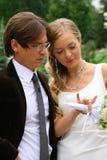 Bride and groom 2 Stock Photo
