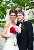 Bride and Groom Royalty Free Stock Photo