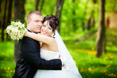 Bride and groom Royalty Free Stock Image