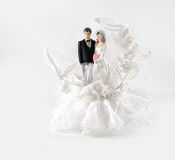 Bride and Groom. A bride and groom wedding decoration Royalty Free Stock Image