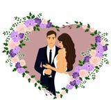 Bride and groom. Stock Photo