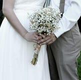Bride and Groom Celebrating Wedding Royalty Free Stock Image
