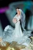 Bride and groom couple doll Royalty Free Stock Photo
