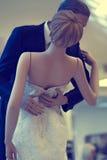Bride and groom dolls Stock Photo