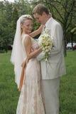 bride groom happy Στοκ φωτογραφίες με δικαίωμα ελεύθερης χρήσης
