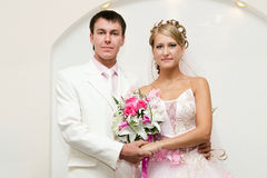 The bride and the groom Stock Photography