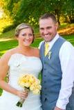Bride Groom Portraits Wedding Day Stock Image