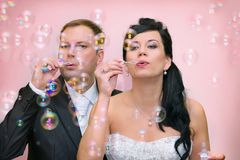 Newlyweds Royalty Free Stock Image