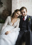 Bride and Groom Together Love Happiness Wedding Marriage Royalty Free Stock Images