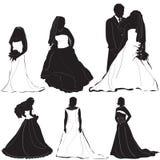 Bride groom vector 2 Stock Images