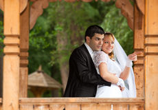 Bride and groom at the wedding Royalty Free Stock Image