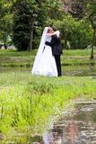 Bride and groom at the wedding Royalty Free Stock Photography