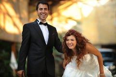 Bride & Groom , Wedding Stock Image