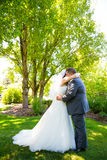 Bride and Groom Wedding Day Royalty Free Stock Image