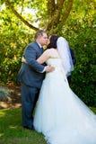 Bride and Groom Wedding Day Stock Photos
