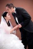 Bride and groom Stock Photo