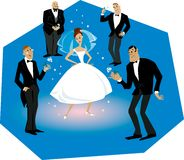 Bride and grooms