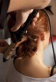 Bride hair Stock Photos