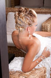 Bride hair style Stock Photography