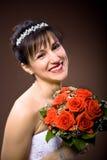 Bride hairstyle Stock Photo