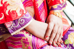 Bride hand Royalty Free Stock Photos