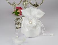 Bride handbag Royalty Free Stock Photography