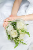 Bride hands Royalty Free Stock Photos