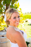 Bride On Her Wedding Day Royalty Free Stock Images