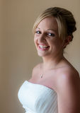 Bride on her wedding day Royalty Free Stock Photo