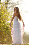 Bride in hippie style Stock Image