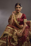 Bride from India Royalty Free Stock Photography