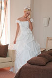 Bride in interior Royalty Free Stock Image