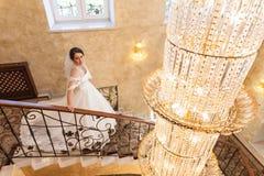 Bride in interior. Royalty Free Stock Image