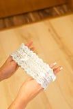 Bride lace Royalty Free Stock Photos