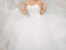Bride in Luzury Dress Royalty Free Stock Image