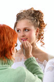 Bride Make-up Stock Image
