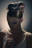 Bride meditation Royalty Free Stock Images