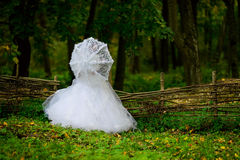 Bride in nature Royalty Free Stock Images