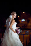Bride at night Stock Photo